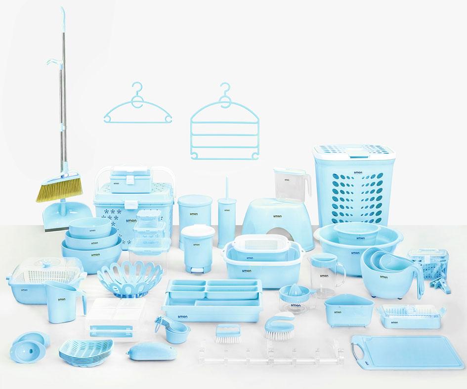 سرویس لوازم آشپزخانه پلاستیکی