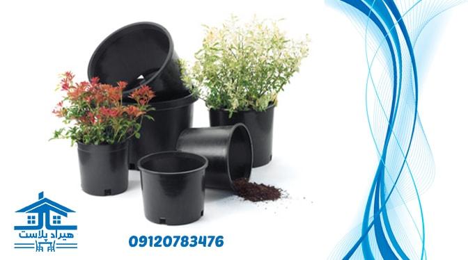 فروش عمده گلدان پلاستیکی گلخانه ای