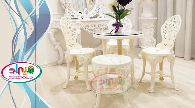 پخش میز صندلی پلاستیکی